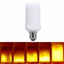 E26/E27 LED Flame Effect Fire Light Bulbs Flickering Emulation Decorative Lamps