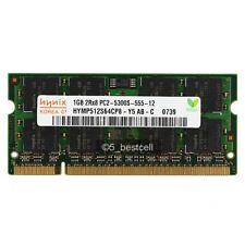 NEW Hynix 1GB PC5300 DDR2 PC2-5300 667MHz Non-Ecc 200pin SODIMM Laptop Memory