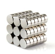 20 Ultra Strong Neodymium Magnet 10 x 5 mm Disc N50 Rare Earth Cylinder Magnets