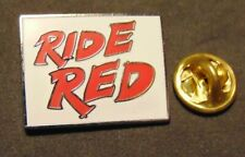 Honda Ride Red Sales Event Continues ATV SXS Motorcycle Powersports Pin Lapel