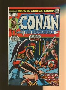 Conan the Barbarian 23 FN 6.0 *1 Book* 1st Red Sonja (Cameo)! Windsor-Smith!