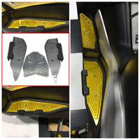 CNC Foot Mats Footrest Footpad Pedal Peg Plate For Yamaha XMAX 250 300 2017-2019