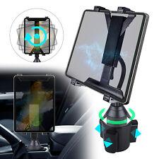 Adjustable Car Cup Holder Mount For iPad Mini Samsung Galaxy Tablet Universal US