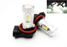 2 H11 H8 SAMSUNG 15 SMD LED Projector Driving Fog Light Bulb 6000K for CHEVROLET