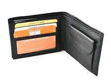 Men's Leather Wallet ID Credit Card Holder Bi-fold Coin Pocket Purse