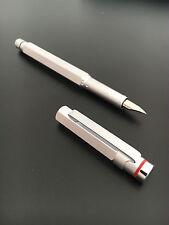 Rotring 600 Newton Silver Fountain Pen M nib Bauhaus