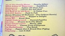 ROADBLOCK! ultimate party jams 15 track compilation album sampler CD promo 2001