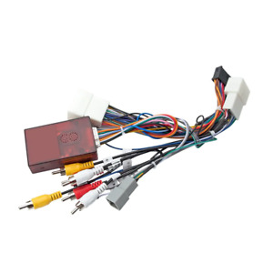 Vehicle Car ISO Wiring Harness Cable Car GPS for Mitsubishi Factory Navigation