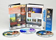 Dorothy Dent, 3 DVD Set, 3 Hours of Oil Painting+BONUS Oil Painting Mediums DVD