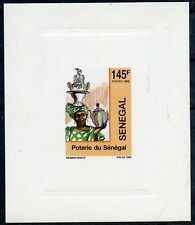 TIMBRE AFRIQUE SENEGAL / EPREUVE DE LUXE NEUF N° 845 ** POTERIE DU SENEGAL / ART