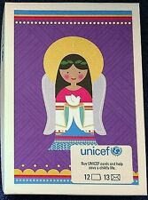 """BRAND NEW UNICEF HOLIDAY """"SEASON'S GREETINGS"""" BOX OF CARDS /Free Shipping"""