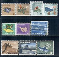 JAMAICA 217-22,225-27,227 SG217-22,225-27,227 MH 1964 Defin short set Cat$7