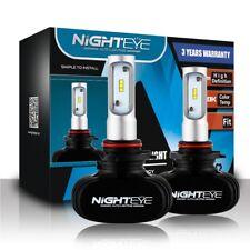 Nighteye 9005 8000LM 6500K 50W LED Headlight Driving Fog Light Bulbs Kit ET