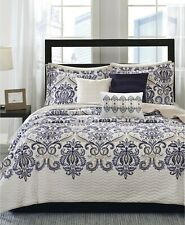 Madison Park 6 Piece King/Cal King Coverlet Set Cali Quilted Paisley E96212
