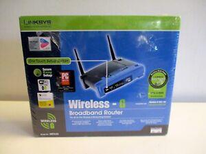 Linksys WRT54G Wi-Fi Wireless-G Broadband Router 2.4 GHz NEW