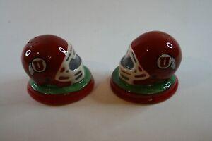 University of Utah Helmet Salt and Pepper Shakers The Memory Company