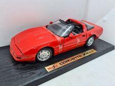 Maisto Chevrolet Corvette ZR-1 1992. Red. 1:18