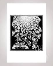 MC Escher - Butterflies - Schmetterlinge - Siebdruck - Rare