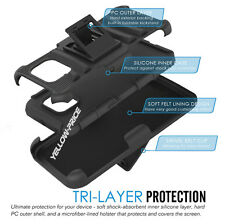 Slim Soft Silicone Case Built-in Belt Clip Stand for Samsuung Galaxy S6 Edge