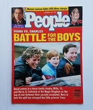 People Magazine September 6, 1993 - Princess Diana vs Charles - Michael Jackson