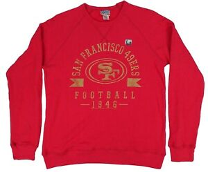San Francisco 49ers NFL Junk Food Men's Pullover Sweatshirt