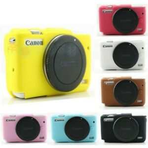 Mirrorless DC DSLR Silicone Soft Camera Case Cover for Canon EOS M3 M6 M5 M10