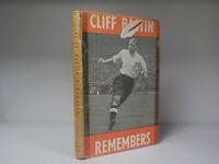 Cliff Bastin Remembers - 1st Edition - 1950 (ID:818)