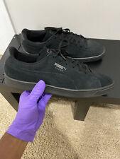 Puma Suede Classic Casual Emboss Black Shoes 36137201 Mens Shoes Size 13