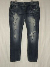 Almost Famous Distressed Jeans Size 15