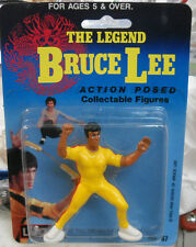 BRUCE LEE LARGO YELLOW SHIRT ARMS UP  ACTION FIGURE NIB