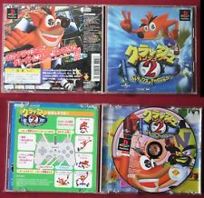 jeu  PS1 , CRASH BANDICOOT 2, version JAP, Très bon état