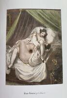 Antique Love Art Sex Vagina Penis Erotik Nude Marriage Couple Romance Wife