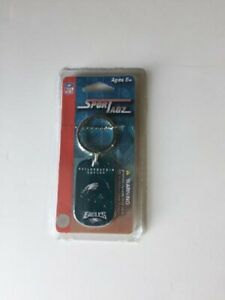 PHILADELPHIA EAGLES DOG TAG/NECKLACE KEY CHAIN NEW AND OFFICIALLY LICENSED