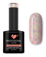 1297 VB™ Line Yogurt Snow Purple Neon Glitter - UV/LED soak off gel nail polish