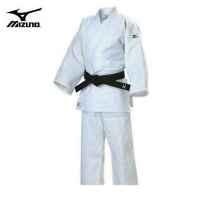 sz 180cm L-XL Mizuno adult brazilian jiu jitsu martial arts karate white Gi judo