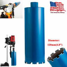 """4.8"""" Premium Wet Diamond Core Drill Bit Core Bore Can concrete hard material Us"""