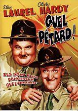 "DVD  ""QUEL PETARD"" LAUREL & HARDY neuf sous blister"