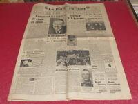 """[PRESSE AVANT-GUERRE] """"LE PETIT PARISIEN"""" 15 MARS 1938 / Hitler Blum Chamberlain"""