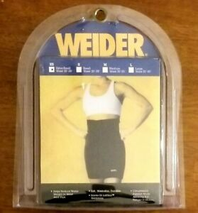 "Weider Neoprene Compression Shorts XS Waists 20""- 25"" Reduce Water Weight NSBXSY"
