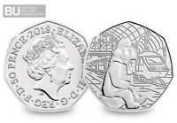 2018 UK Paddington at Station CERTIFIED BU 50p - Official UK Issue [Ref: 968X]