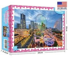 1000 Piece Jigsaw Puzzles City Ferry Wheel Night education Kid Adults Puzzle Toy