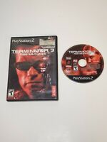 Terminator 3: Rise of the Machines (Sony PlayStation 2, 2003) PS2 NO MANUAL