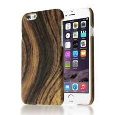 Étuis, housses et coques marrons en bois, bambou pour téléphone mobile et assistant personnel (PDA) Apple