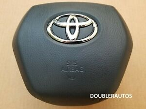 18-19-20-21 TOYOTA CAMRY OEM AIR BAG LEFT LH DRIVER WHEEL AIRBAG EXCELLENT!