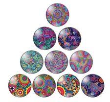 Festival Navidad Tema De Cristal Oval Dorso Plano Cabujones Color Mezclado 25x18x6mm 10 un