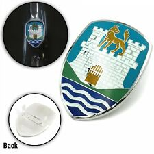 VW TYPE 1 BUG 7 COLOR HOOD CREST WOLFSBURG CASTLE FITS ANY SEDAN OR CONVERTIBLE