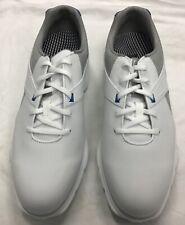 Footjoy Pro SL Golf Shoes Model 53811 Size 9.5M White, Gray & Blue. New no box