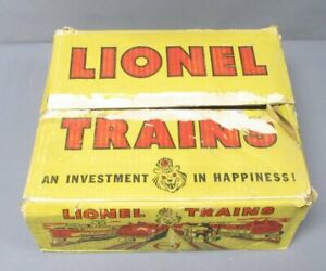 Lionel Vintage O Gauge Postwar Set Box Only/Box