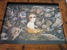 Framed Original Print Jim henson Labyrinth loot crate DX #9 Jennifer Connelly
