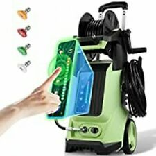 3800psi Electric Pressure Washer 28 Gpm Touch Screen Portable High Power Washer